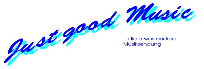 Logo von Just Good Music, the slightly different music programme